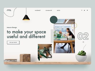 #56 - Concept Website Design Shot web icon website design research typography webapp visual design product design interior ux vector illustration minimal ui freelance logo design branding app