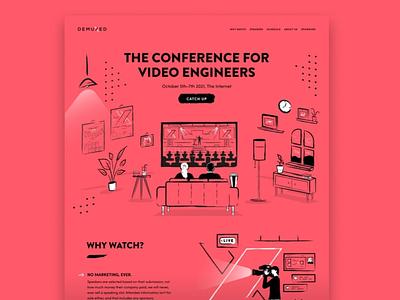87 - Concept Website Design Shot icon web website design typography research webapp visual design product design conference video ux vector illustration minimal logo freelance ui design branding app