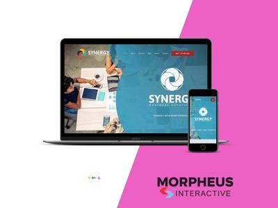 Synergy-WebDesign branding and identity ui branding web