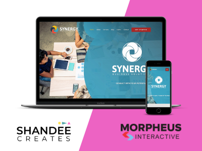 Synergy Web Design ui web branding and identity branding