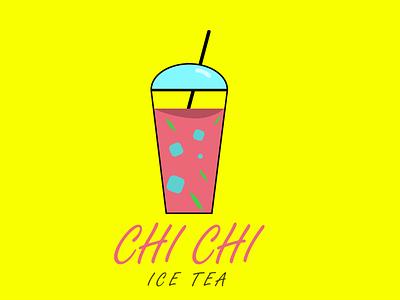 ice tea logo logodesign drawing adobe illustrator logo designgraphic illustration graphic design