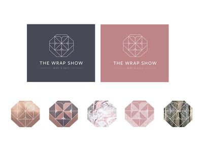 The Wrap Show logo v3 alternative colours