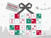Leicester University advent calendar