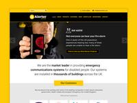 Alerter Group homepage