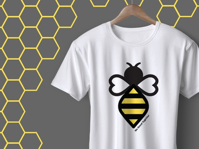 We Stand Together T-shirt tee t shirt t-shirt manchester fundraising charity bee illustration