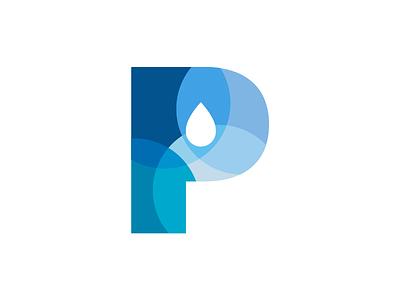 Public Pool mark branding water blue mark illustrator identity wip ideas logo brand