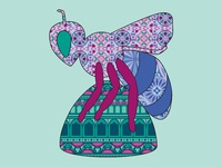 Bee in the City bee design