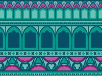 John Ryland's Library pattern