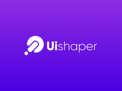 Uishaper character uishaper idea iconic logo idea logo meaningful logo concept logo illustrator flat vector branding design logo illustration