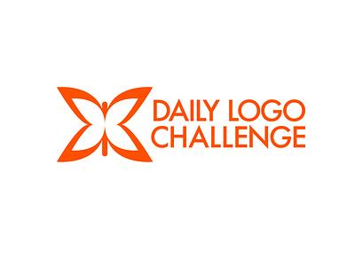 Daily Logo Challenge Logo typography illustration icon vector illustrator flat branding logo graphic design design