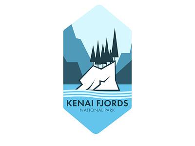National Park Logo illustration vector flat logo illustrator graphic design design