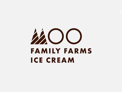 Ice Cream logo illustration minimal vector flat branding logo graphic design design