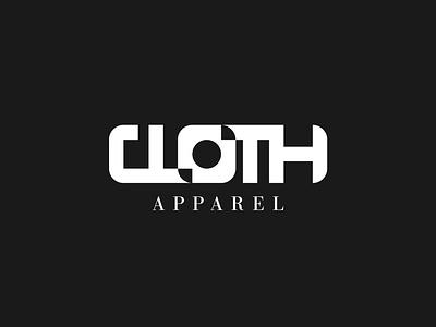 Hip Clothing Brand typography flat branding logo graphic design design