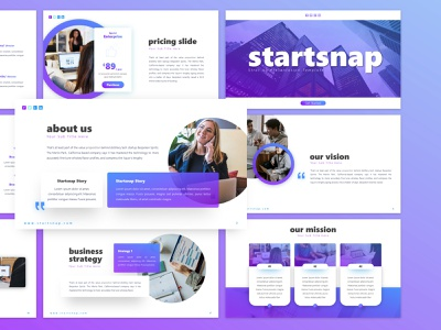 Starsnap - Start Up PowerPoint Template presentation template presentation design graphic design powerpoint template powerpoint presentation design