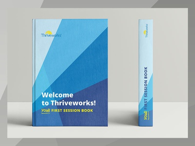 Your First Session Book design