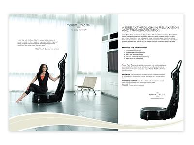 PowerPlate Home Beauty Ad advertising branding design