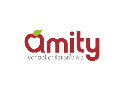 Amity School Children's Aid Brand Identity identity identity branding letterhead design vector logo branding design