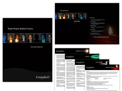Convergys Recruitment Campaign brochure design campaign advertising design