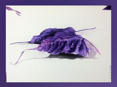 Purple peepal peace meditation streetart figurative stilllife peopleisee watercoloronpaper aquarellepainting aquarelle watercolorart watercolor watercolorpainting fineart contemporaryart indianart karthikshetty atmarasa