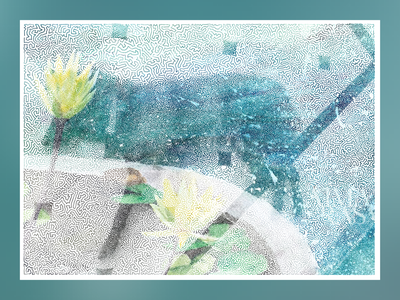 TSP art tspart illusion halftones peace meditation streetart figurative stilllife peopleisee vectorillustration vectorart vector illustrator illustration indianart karthikshetty atmarasa