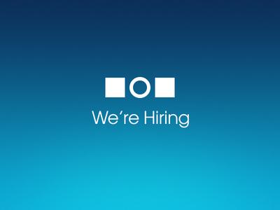 Hiring at Highfive hire designer brand graphic design type avant garde highfive five high gradient