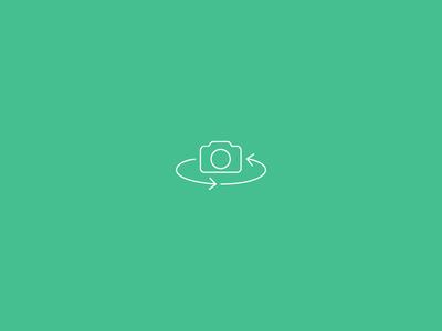 Flip Camera Icon | iOS7 camera icon flip camera shutter ios7 line monoline