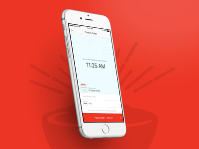 eatsa Mobile schedule transaction payment order food user experience interface ui design ios iphone mobile