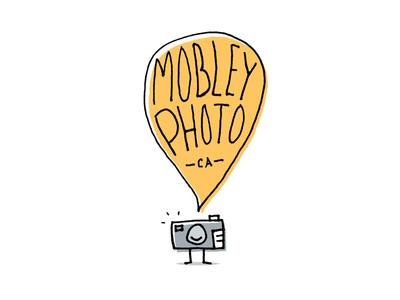 Mobley Photo Logo ca sf hand craft typography type mark photography photo brand logo