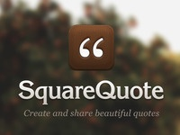 SquareQuote Launch