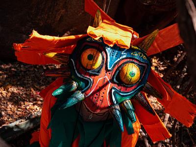 Legend of Zelda: Majora Mask Cosplay foam craft cosplay