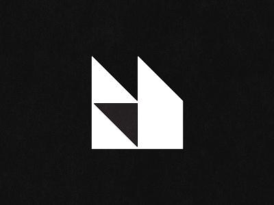 H type logo icon