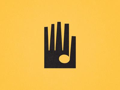 Hand Icon 236 icon logo mark hand note