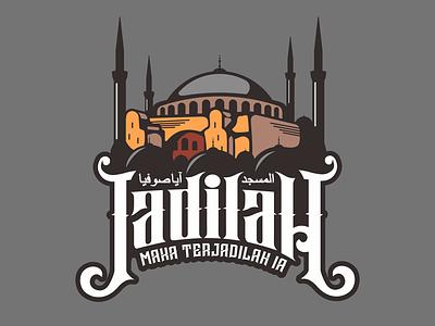 Hagia Sophia hagiasophia mosque islamic design vector illustration tshirtdesign islamic art