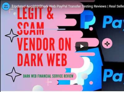 Dark Web PayPal Transfer Testing Reviews | earn money online 2020