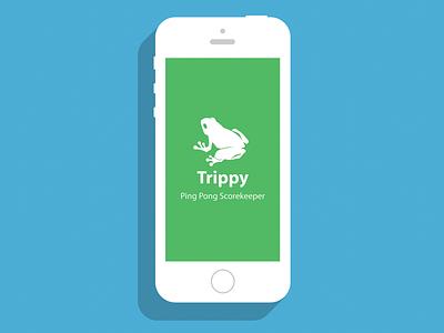 Trippy: Game App mobile app logo illustration art