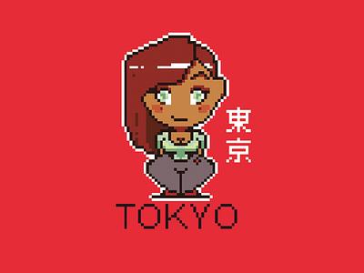 Pixel Friend character illustration art pixel