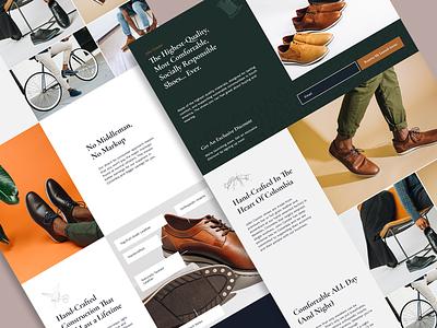John Candor — Web Design 🍃 freshworks landingpage webdesign ux design ui