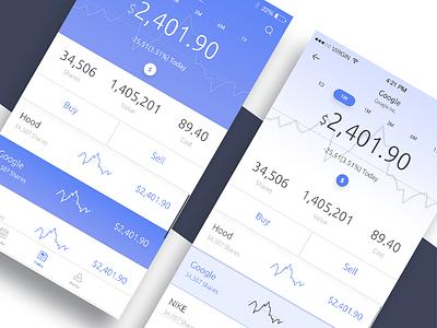 Trading Journal App for Traidr states statistics sketch sketchs ux ui stock sales market app design ios