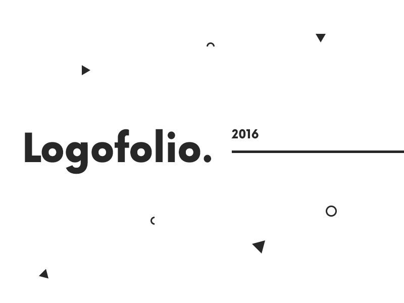 Logofolio 2016 branding brand logofolio logo