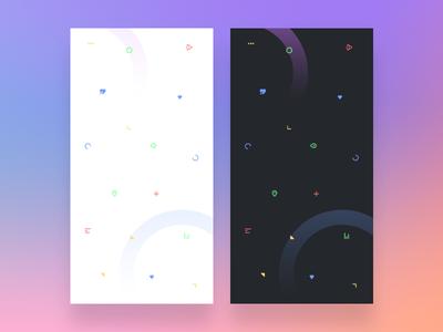 Icons Pattern Wallpaper