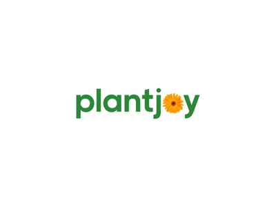 Plantjoy Logo Animation brand identity plants flowers ecommerce ecommerce shop planting joy plant green branding brand logo animation logo design logo