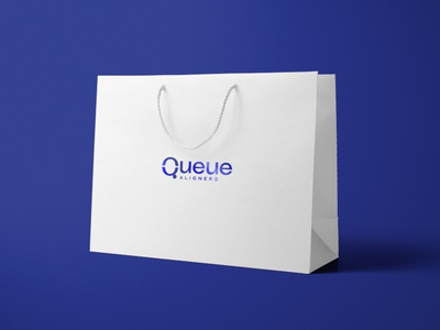 Queue™ Aligners Packaging orthodontics orthodontist aligners q foil stamping foil stamp printing print aligner case box design box retail bag bag brand branding packaging design packaging