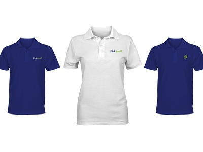 Clickseed Apparel polo polo shirt apparel design apparel identity branding logo green