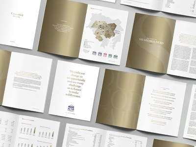 ACNB Corporation 2020 Annual Review print design annual report design metallic ink metallic magazine design publication design publication annual review annual report