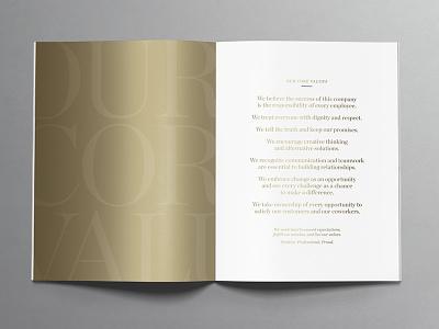 ACNB Corporation 2020 Annual Review metallic ink print design print design magazine design publication design publication annual report design annual review annual report