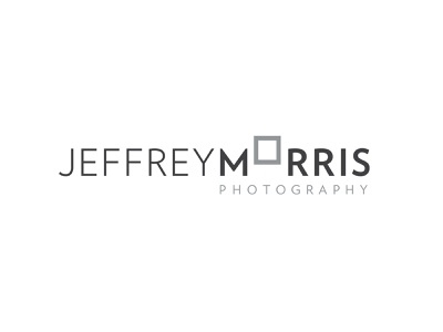 Jeffrey Morris Photography Logo frame photographer photography design identity brand branding logo design