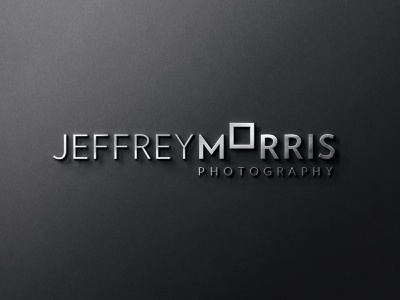 Jeffrey Morris Photography Signage photographer photography signage design signage design identity brand branding logo design logo