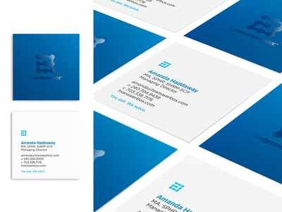HR Answerbox Business Cards