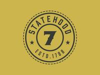 Maryland Clothing Co. Secondary Mark – Statehood 7 Seal