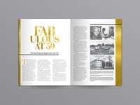 Insights Magazine Feature – Fabulous at 50